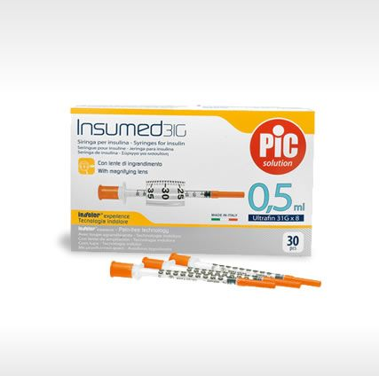 Insumed Syringes (0.5 ml)