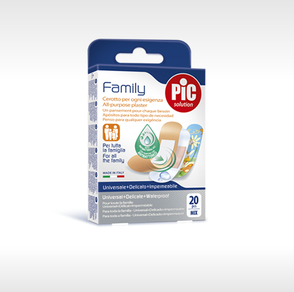Family strip plasters