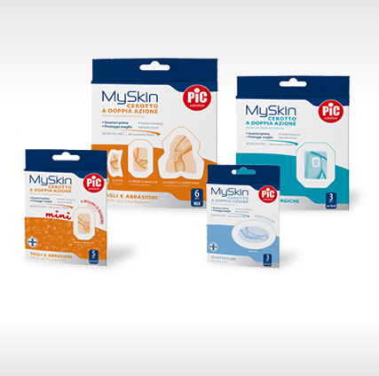 MySkin Dual-Action plasters